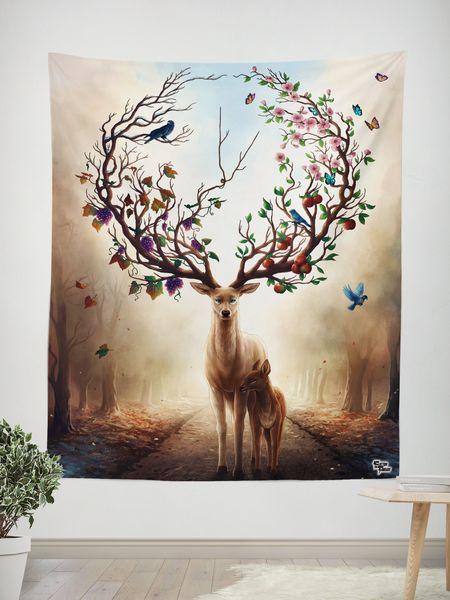 Seasons Wall Tapestry