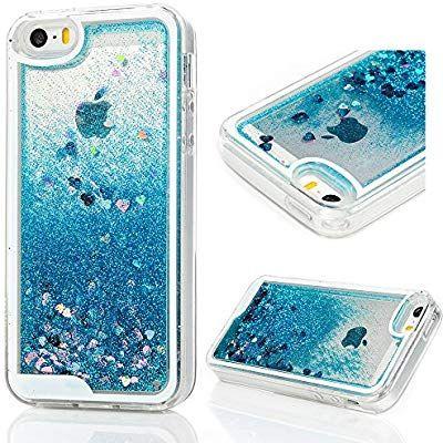 purchase cheap 5de68 a232e Amazon.com: MOLLYCOOCLE iPhone SE Case, iPhone 5 5S Case ...
