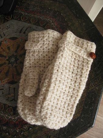 star stitch crochet mittens