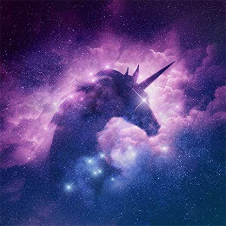 Amazon.com : LFEEY 8x8ft Starry Stars Unicorn Silhouette