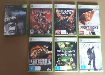 Xbox 360 Pal Games New In Factory Sealed Plastic Xbox Gumtree