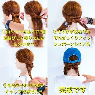 美容師 Hiroさんのスナップ アウトドア ヘアアレンジ ロング