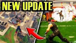 New Update Patch Notes New Locations Fortnite Soccer