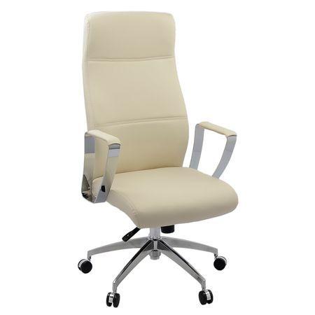 Kring Denver Ergonomikus irodai szék, PU, Bézs | Irodai szék