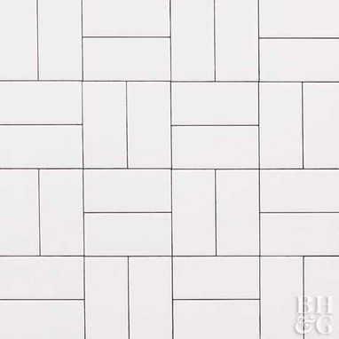 basket weave tile subway tile patterns