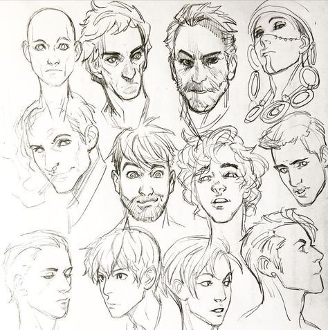 27 Trendy Drawing Anime Male Facial Expressions Anime Face Drawing Drawings Character Design