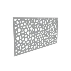 Tuffbilt Sprig 4 Ft X 2 Ft Greige Polymer Decorative Screen Panel 73004794 The Home Depot In 2020 Decorative Screen Panels Decorative Screens Decorative Fence Panels