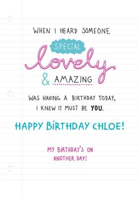Lovely Amazing Personalised Birthday Cardonce You Ve Personalised Your Card Typography Design Tutorial Brochure Design Template Presentation Design Template