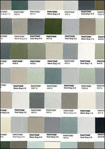 Pantone Fifty Shades of Grey Journal: Pantone colors put a cheeky spin on '50 Shades' to color a smartly sized, ruled journal. Who better to unleash fifty