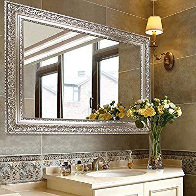 Venetian Wall Mirror, Silver Bathroom Mirrors