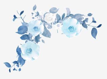 Milhoes De Imagens Png Fundos E Vetores Para Download Gratuito Pngtree Blue Flower Painting Blue Flowers Background Blue Flower Art
