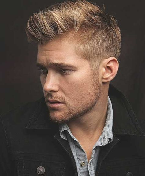 2017 Summer Trend Blond Hairstyles For Men Check More At Https