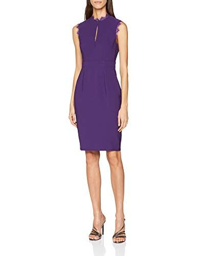 Damen Partykleid Purple Bodycon Mistress Violett Little 36 001 iOPkXZu