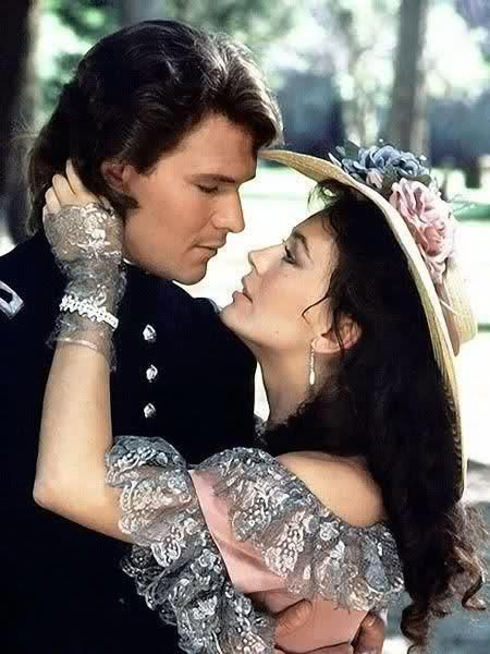 Patrick Swayze& Lesley Anne Down - North and South