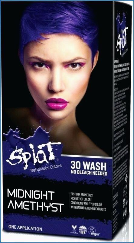Splat Hair Color Ideas Bleach Hair Color Splat Hair Dye Bleach