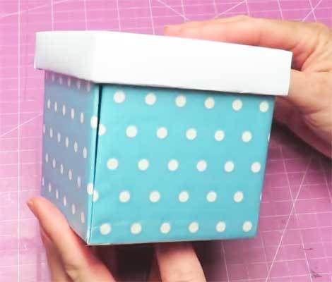 Caja Explosiva Gigante Medidas Y Paso A Paso Como Hacer Cajas Sorpresa Cómo Hacer Una Caja Hacer Cajas De Regalo