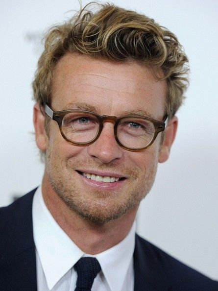 Simon Baker Actor Producer Director B 07 30 1969 Launceston Tasmania Australia Actors Simon Baker Mens Hairstyles Short Mens Hairstyles