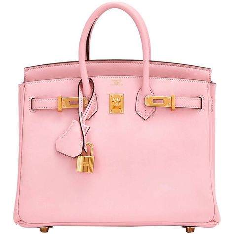 0abbd003a021 Hermes Rose Sakura Baby Birkin 25cm Swift Gold Hardware Jewel ...