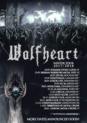 Long Live The Loud 666 Wolfheart Winter Tour 2017 2018