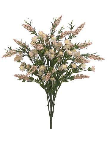 Mauve Artificial Wildflower Bushes