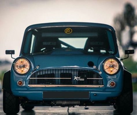 Mini Cooper Weight >> No 1 This Beautiful Blue Mini Is A Monster Light Weight
