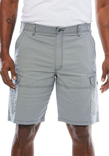 Men S Big Tall Extreme Comfort Cargo Shorts By Lee Silver Big