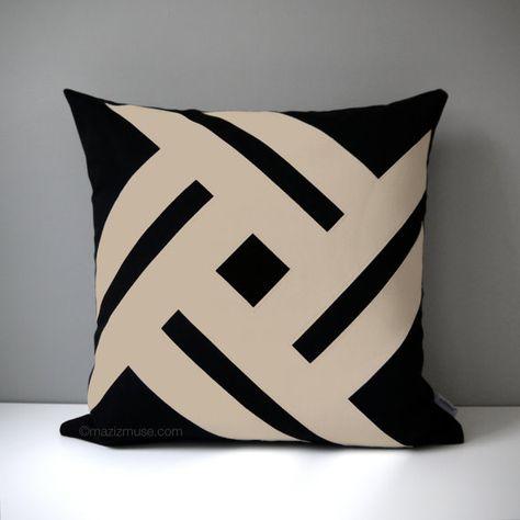 Kess InHouse Kess Original Dachshund Beige Black 30 x 20 Pillow Sham