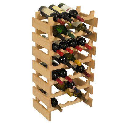 Symple Stuff Geis 28 Bottle Floor Wine Rack Products Wine Rack