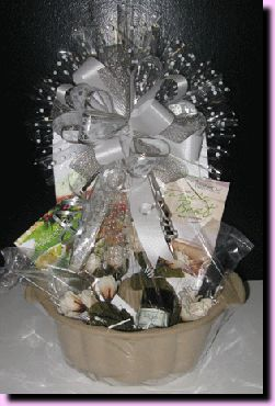 pampered chef fluted pan what a cute idea for a bridal shower present