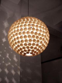 Pingpong Ballen Lamp Creative Expressions