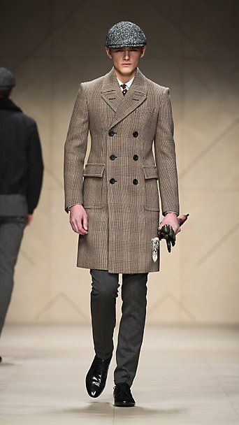 Wool Tailored Chesterfield by Burberry.