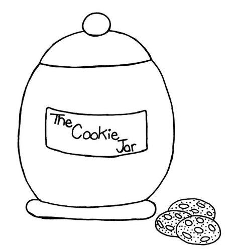 the cookie jar coloring pages  bulk color  malvorlagen