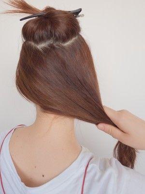 夜会巻きのやり方 かぶせ方は 普段着にも似合うヘアアレンジ アップヘアの髪型 簡単ヘアアレンジ ロング まとめ髪 簡単 ヘアアレンジ