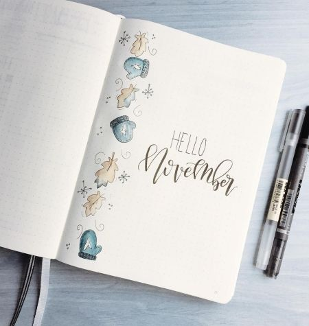 Diy Thanksgiving Decorations Bullet Journal Inspiration Planner Bullet Journal Planner