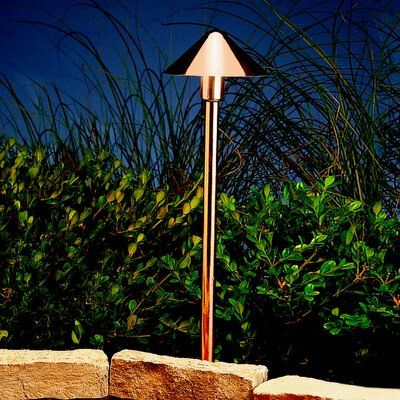 Kichler Fundamentals 1 Light Pathway Light Outdoor Path Lighting Led Path Lights Path Lights