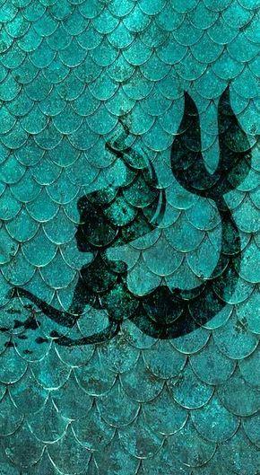 Freetoedit Sereia Escamas Mar Peixes Wallpaper