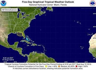 Tropical System Off Florida S Gulf Coast Possible By Tuesday Florida Hurricane Hurricane Tropical