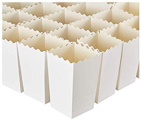 Set of 100 Popcorn Favor Boxes Popcorn ... 16oz Mini Paper Popcorn Containers