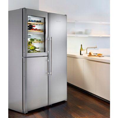 Liebherr Premiumplus Side By Side Sbses 7165 21 185cm Med Bilder Kok Koksdesigner Frys