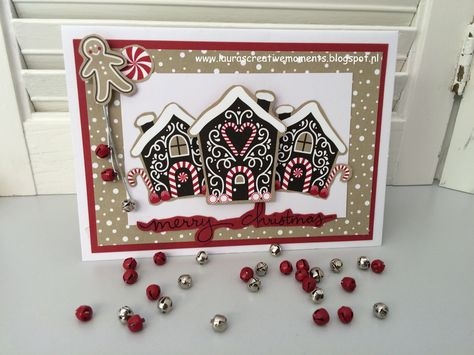 Candy Cane Lane DSP, Stampin' Up! - Christmas card #3