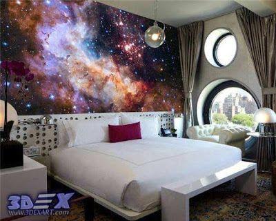 Galaxy 3d Wallpaper For Room