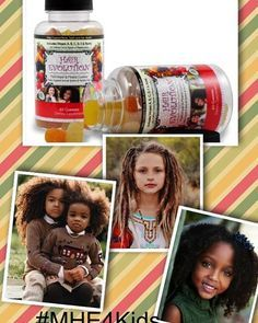 Is Your Child's Hair Growing At a Slow Rate?  Give your baby a boost with with MHE4Kids. MHE4Kids was formulated exclusively to help your child obtain a daily intake of nutrients that will be beneficial to hair, bone, teeth, immune system, and much more. We've also included Biotin. For ages 2 & up. To learn more about #MHE4Kids Visit www.myhairevolution.com  #MHE #MHE4Kids #MyHairEvolution #Biotin #KidsHair #Kids #HairCareTips #Toddlers #Parents #Hair #KidVitamins #HealthyKid
