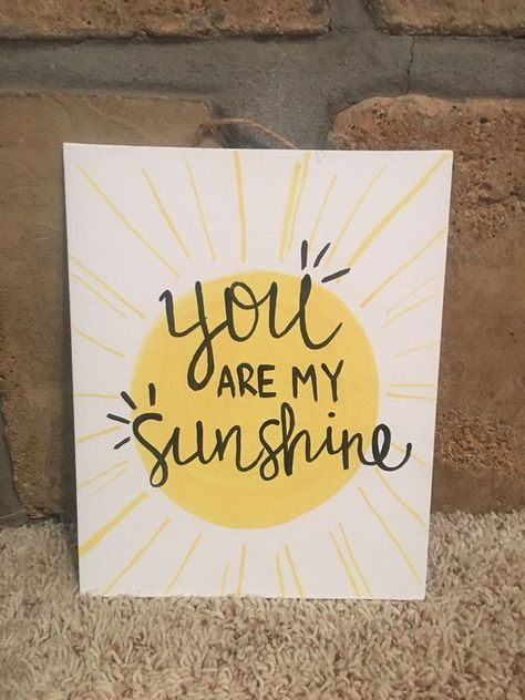 Canvas Painting Quotes, Small Canvas Paintings, Easy Canvas Art, Easy Canvas Painting, Small Canvas Art, Mini Canvas Art, Canvas Quotes, Canvas Crafts, Diy Canvas
