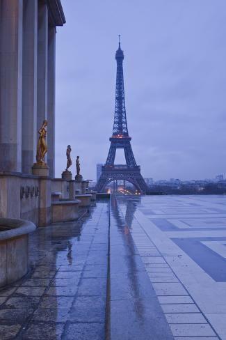 size: Photographic Print: The Eiffel Tower under Rain Clouds, Paris, France, Europe by Julian Elliott : Travel France Wallpaper, Paris Wallpaper, Paris Tour, Paris 3, Paris Cafe, City Aesthetic, Travel Aesthetic, Tour Eiffel, Oh The Places You'll Go