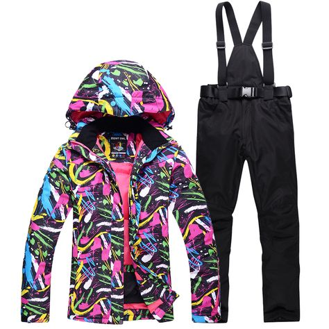 womens snowboarding jacket and pants set