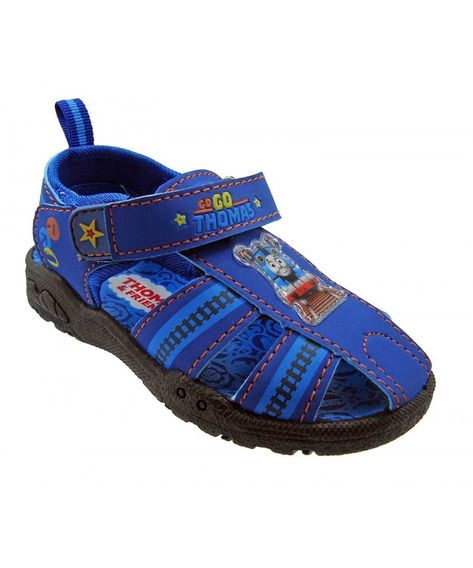 Toddler Boys Thomas The Train Sports Sandals With Lights