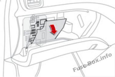 Citroen Ds5 2011 2018 Fuse Box Location Fuse Box Fuse Box