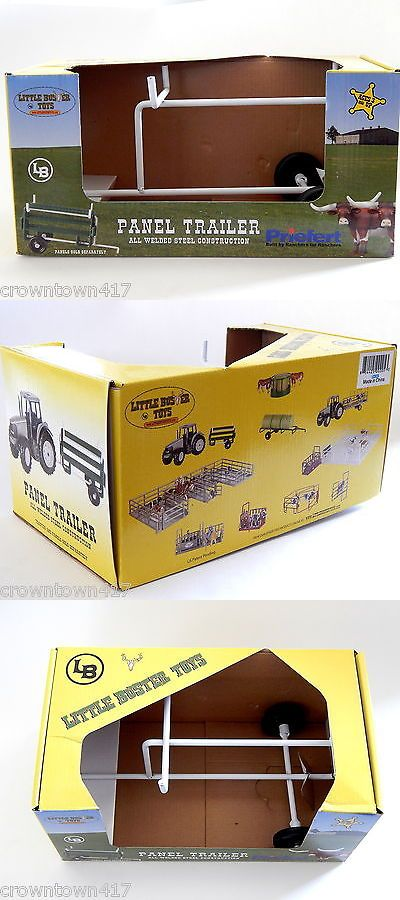 1//16 Little Buster Toy Panel Trailer All Welded Steel Construction