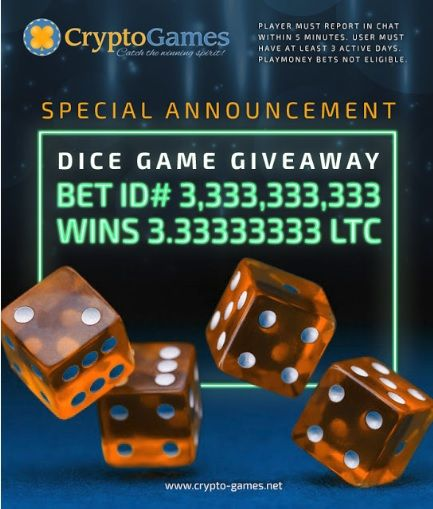 cryptocurrency dice games