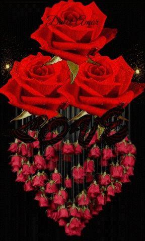 Bom Dia Amor Com Imagens Rosas Pretas Rosas Roxas